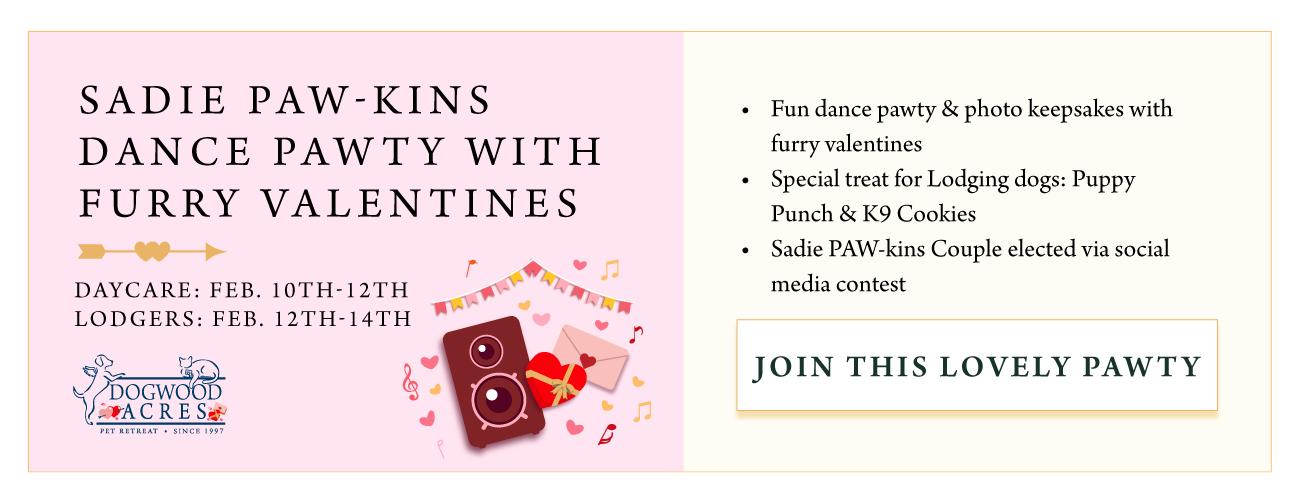 Sadie Paw-kins Dance Pawty